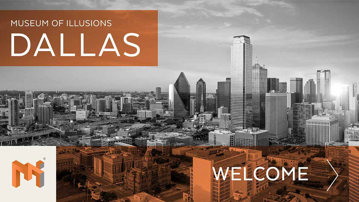 welcome museum of illusions dallas