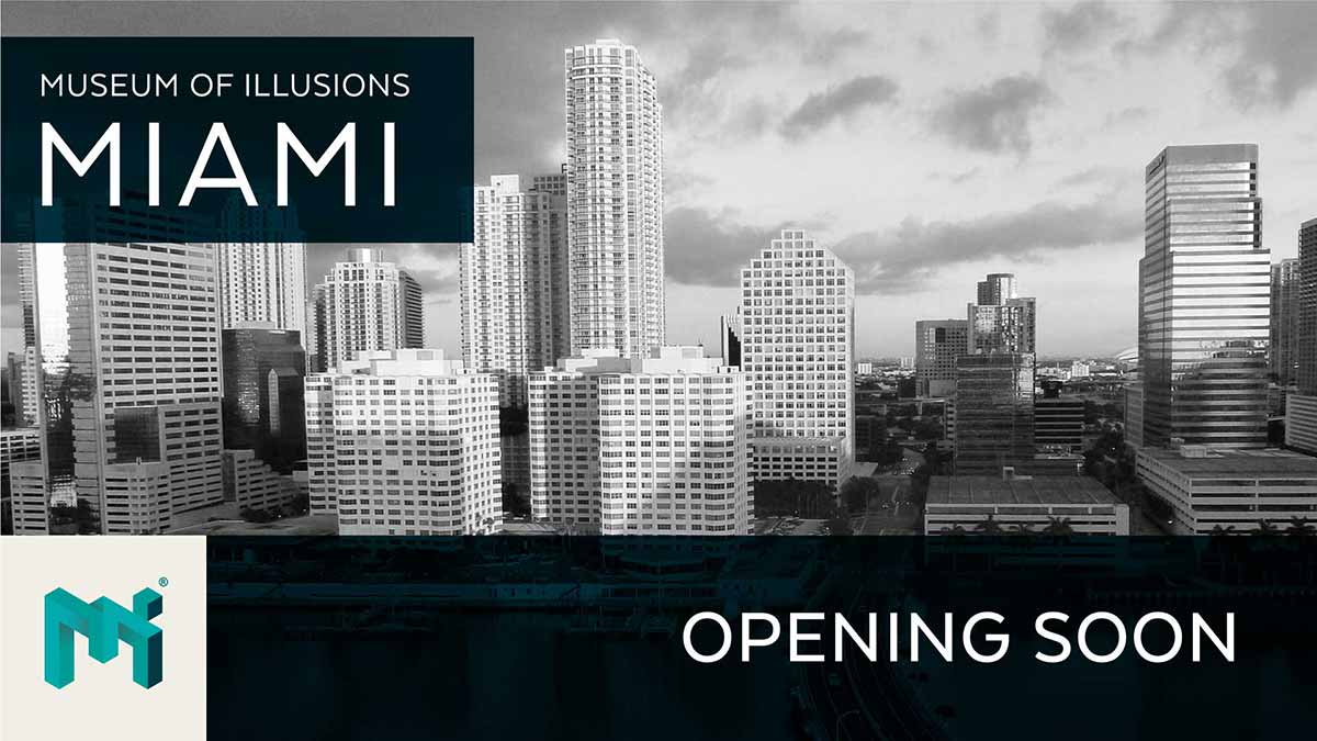Museum of illusions miami opening soon